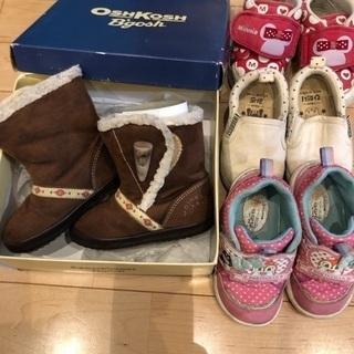 オシュコシュ キッズ 13.5cm ブーツ アンパンマン ディズ...
