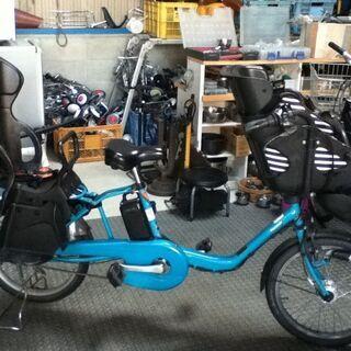 パナソニック電動アシスト自転車 3人乗り