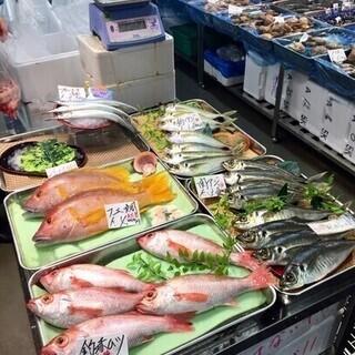 豊洲市場・仲卸フロアでのお買い物~魚さばき~寿司にぎり教室