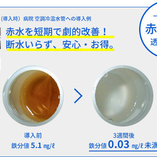 水配管を40年以上延命!日本システム企画の配管内の赤錆防止装置「NMRパイプテクター」 − 東京都