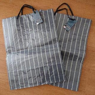 ビニールカバー付き 紙袋  2枚組