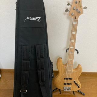 アトリエZ(ATELIER Z)M265 5弦ベース 美品