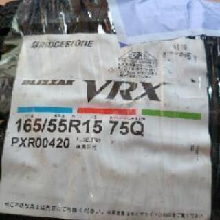 スタットレスタイヤ BS  VRX 165/65/R15