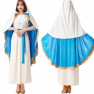 【ネット決済・配送可】聖母マリア コスプレセット