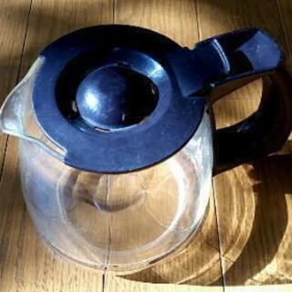 ②コーヒー?紅茶ガラスポット中古サイズ小