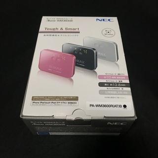 WiMAXルータ【NEC Aterm WM3600R】《中古 モ...