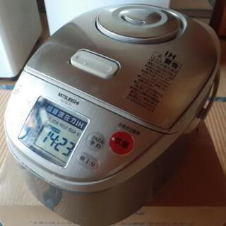 【取引中】07年製 三菱 炊飯器5合炊き