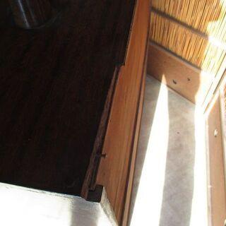 昭和レトロ 木製 アンティーク本棚 引き出し付  - 売ります・あげます