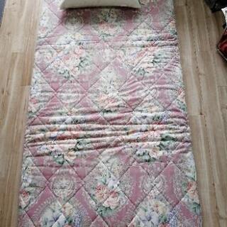 美品敷き布団枕セット - 札幌市