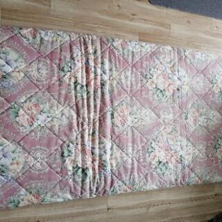 美品敷き布団枕セット - 家具