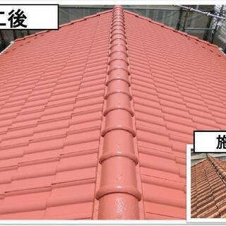 ⭐️屋根の塗り替え、外壁塗装、足場を自社で組み立てを行える為、他...