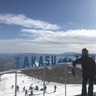 岐阜県奥美濃エリアでスノーボード フリーラン~カービング