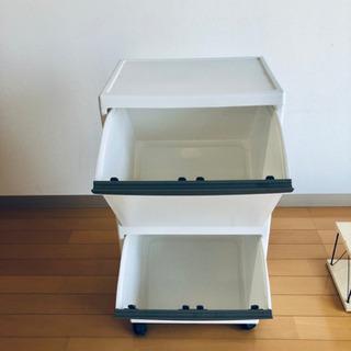 台所、小物収納ケース、分別ゴミボックスにも!