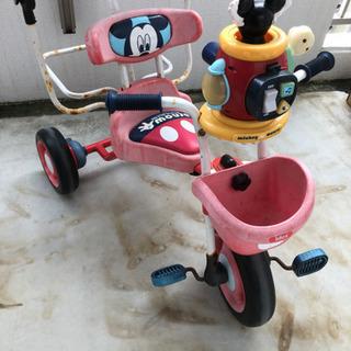 (お取引相手決まりました)ミッキー三輪車 お譲りします
