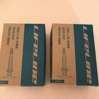 仏式 ロードインナーチューブ 700x35/45C 48mm