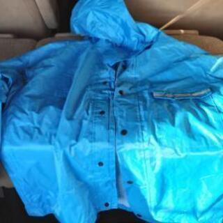 大きめレインコート、ウェア、雨具カッパ、上下セット