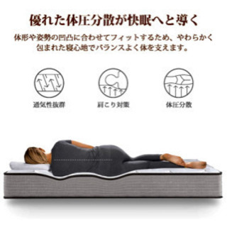 新品クイーンマットレス − 東京都