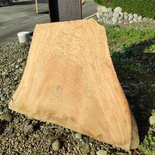 木材 けやき 平板③ 国産