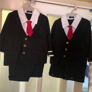 入園式用簡単スーツ