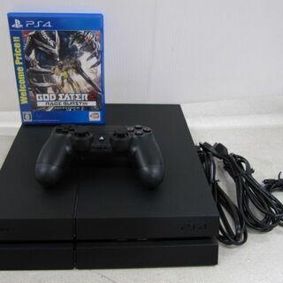 🎮超美品!PS4 ブラック CUH-1200A 500GBワンオ...