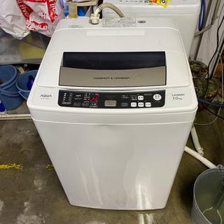 2012年 アクア AQUA 7k 洗濯機 ネット無し
