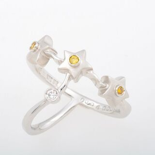 KARATI K18WG ダイヤモンド リング 品番B9-…
