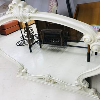 商談中 大型ミラー 鏡 全身鏡 ウォールミラー 姿見 ロココ調 ...