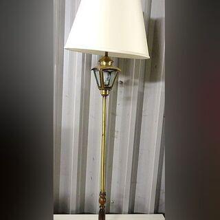 ③レトロ アンティーク調 ◇ フロアライト フロアスタンド 照明...