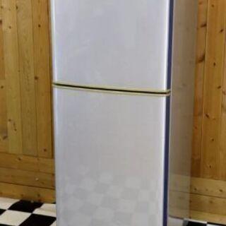 ノスタルジックな逸品  シャープ 冷凍冷蔵庫SJ-14G-S 1...
