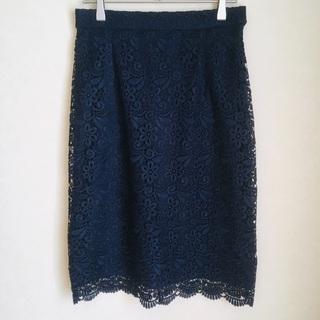 【美品】UNIQLO / レースタイトスカート / Mサイズ