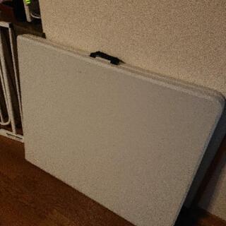 【早い者勝ち】折り畳み式 作業テーブル 大きめ
