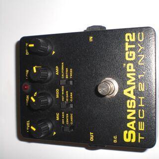 SANSAMP GT2 サンズアンプ TECH21