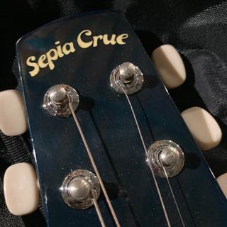 Sepia Crue ミニギター