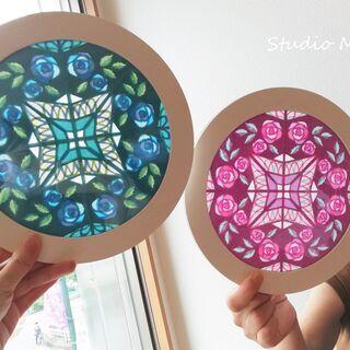 紙のステンドグラス~ローズウィンドウ~ ☆ランチ付き講座☆