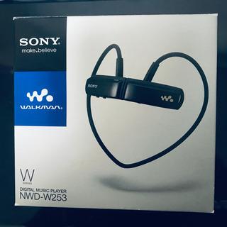 【未使用】SONY ウォークマン 一体型  NWD-W253(G)