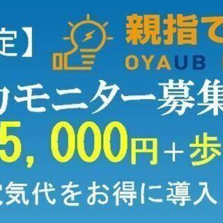 【北陸エリア限定】新電力モニター募集!