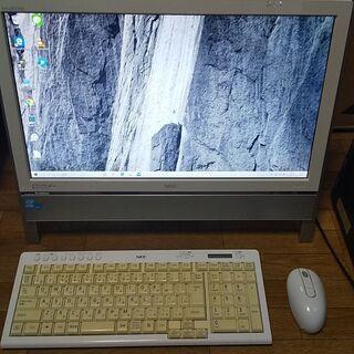 NEC 一体型デスクトップ Core i5搭載 メモリ4G…