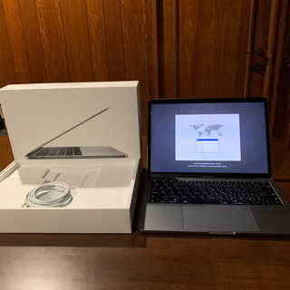 【ネット決済・配送可】【新品同様】MacBook Pro (13...