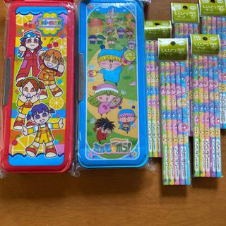 【新品】筆箱2個 鉛筆5本入り× 5セット