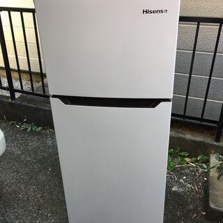 高年式ハイセンス 2ドア冷蔵庫 HR-B12C 2019年…