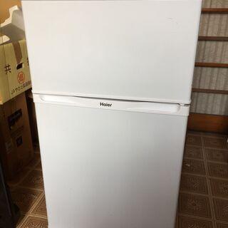 ハイアール 冷凍冷蔵庫 2ドア 91L JR-N91J