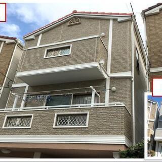 ⚠️建築物の外壁塗装、屋根塗装、補修工事は足場組み立てが自社で...
