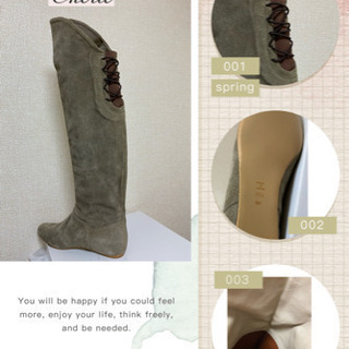 値下げしました 秋冬 レディースブーツ 高品質ブーツ 日本…