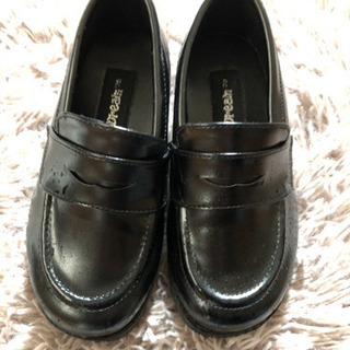 卒園入学式用の子供革靴17センチ