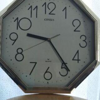 シチズンクオーツ壁掛け時計