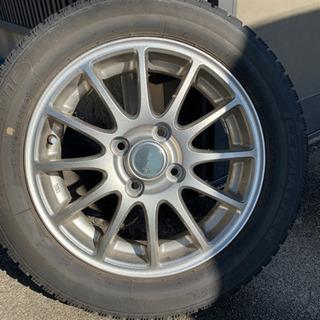 155/65R14 スタッドレス/ホイールセット