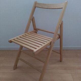 無印 折りたたみ椅子
