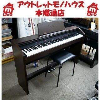 値下げOK!【Privia 電子ピアノ カシオ PX-750BN...