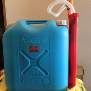 灯油ポリ缶 給油ポンプ