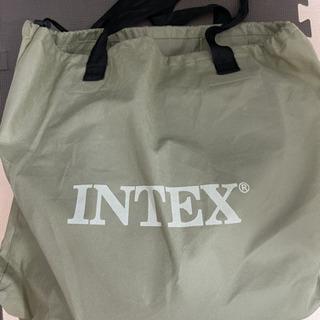 エアーベッド INTEX シングルサイズ 電動式